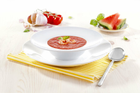 Melounové gazpacho