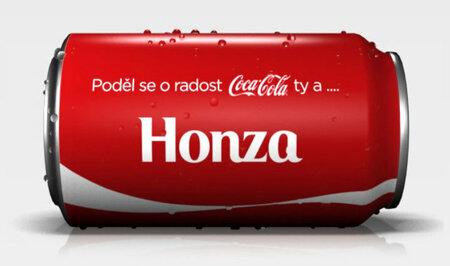 Poděl se o radost a vytvoř tátovi vlastní Coca Cola plechovku na www.podelseoradost.com
