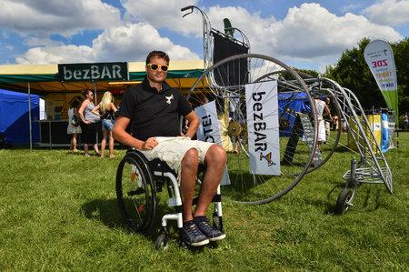 Martin Zach si užívá život i na vozíku
