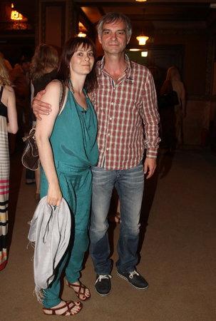 Klára Pollertová s manželem Ivanem Trojanem