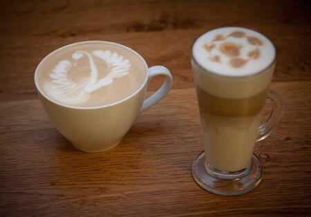 Caffè latte a Latte macchiato od Zdeňka Smrčky
