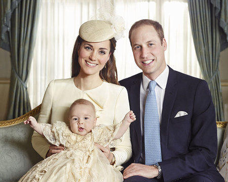Hrdí rodiče William a Kate s rozesmátým malým princem Georgem