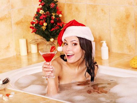 I když je teprve polovina listopadu, vpusťte Vánoce do své koupelny!