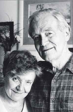 S manželkou Ludmilou žil šťastně až do její smrti.