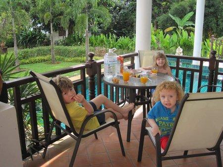 Česká rodina v Thajsku