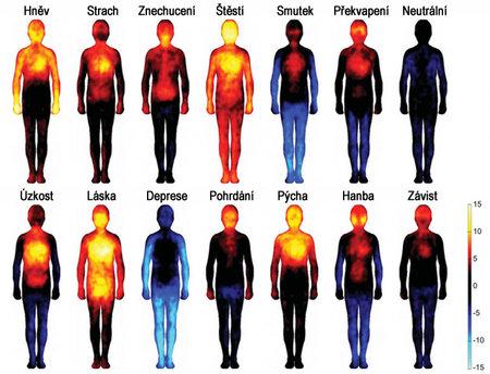 Podívejte se, jak s teplotou vašeho těla dokážou zacloumat emoce