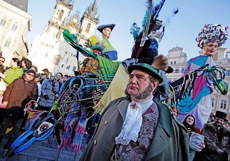 Carnevale Praha zahájí masopust průvodem masek.