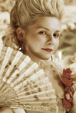 Kirsten Dunst jako MArie Antoinettta