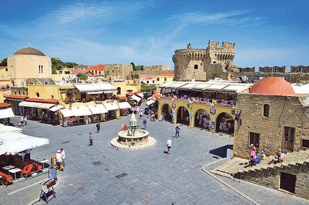 Historické centrum Rhodosu je od roku 1988 pod ochranou UNESCO.