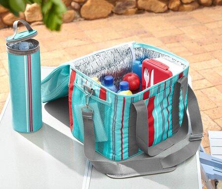 Stylová chladící taška, Tchibo, 399 Kč.