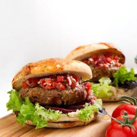 koriandr burger