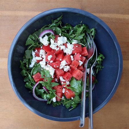 Melounový salát na řecký způsob