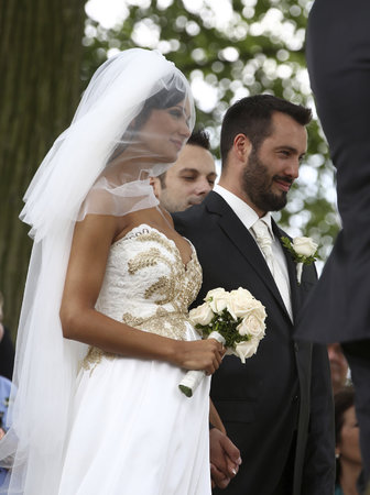 Noid a Gábina Dvořáková se vzali při tajné svatbě.