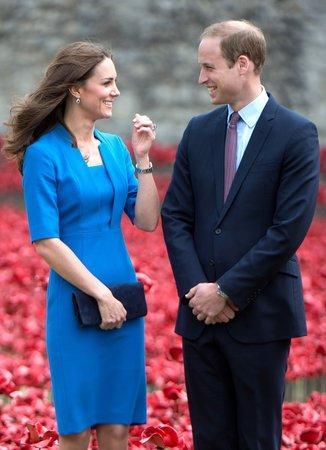 Kate a William očekávají narození druhého potomka na jaře 2015.