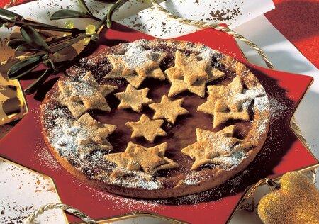 Linecký vánoční dort