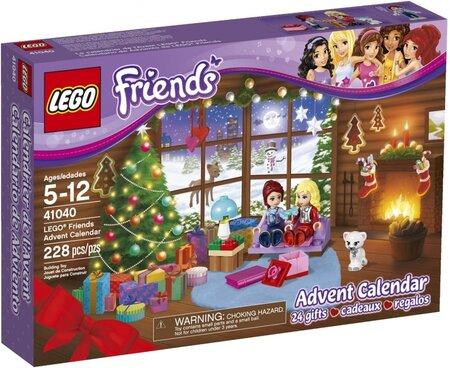 Adventní kalendář LEGO FRIENDS seženete od 429 do 725 Kč