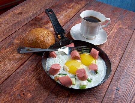 Párky s vejcem