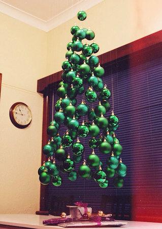 vánoční stromek, netradiční