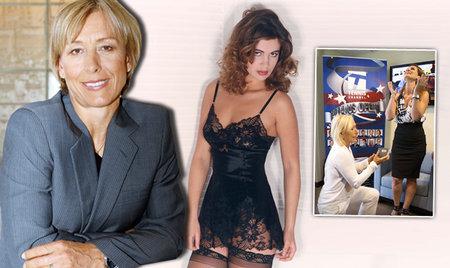 Legendární tenistka Martina Navrátilová se vdala za dlouholetou přítelkyni Julii Lemigovu.