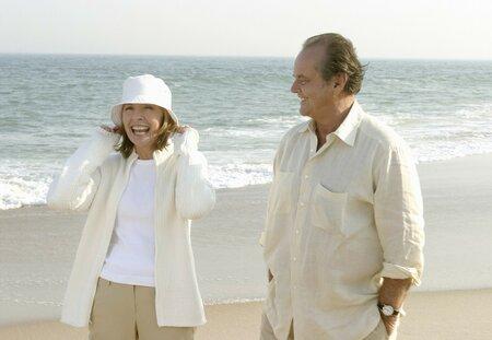 Lepší pozdě nežli později, Diane Keaton, Jack Nicholson