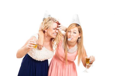 opilé dívky, kamarádky