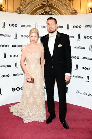Romana Jákl Vítová s manželem Petrem Jáklem.