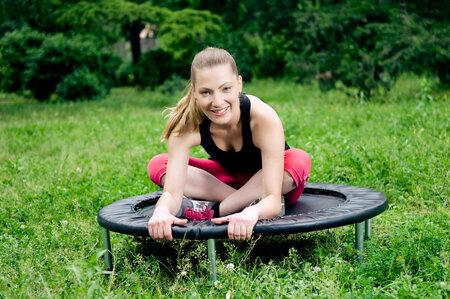 Na trampolínách si užijete mnohem více srandy než při běhání.