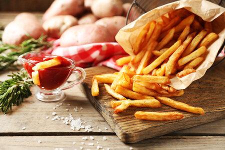 Hranolky mají vysoký glykemický index, takže se po jejich konzumaci rychle zvedne hladina glykogenu.