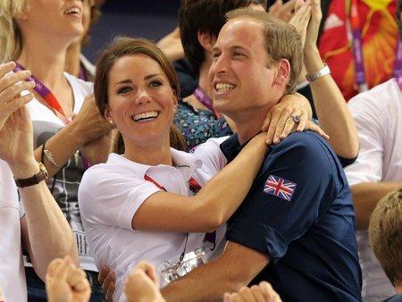 Kate a William si nenechali ujít olympijské hry, které se v roce 2012 konaly v Londýně.