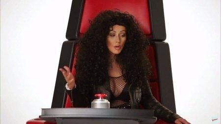 Christina jako Cher.