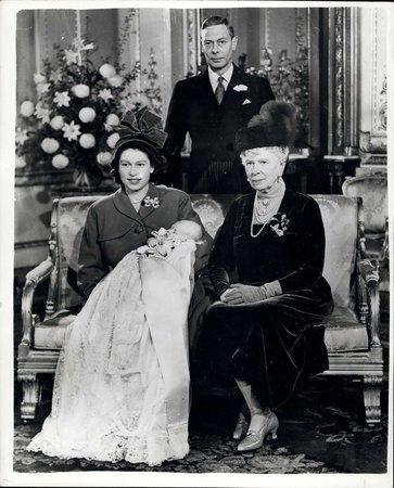 Křtiny prince Charlese