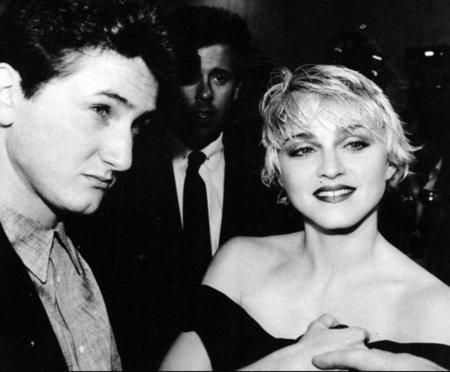 Madonna a Sean Penn