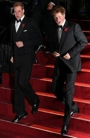 Premiéry se zúčastnili i princové William a Harry