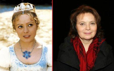 Zapomenout nesmíme ani na oblíbenou Popelku, kterou skvěle ztvárnila Libuška Šafránková (63).