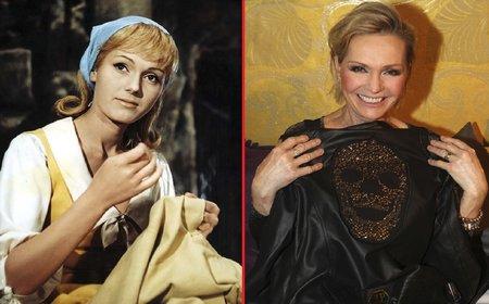 Šíleně smutnou princeznu si v hudební pohádce zahrála zpěvačka Helena Vondráčková (69).