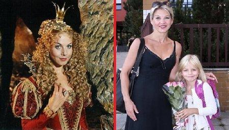 Majetnickou a vypočítavou princeznu Eufrozínu ztvárnila v pohádce Z pekla štěstí Sabina Laurinová (44).