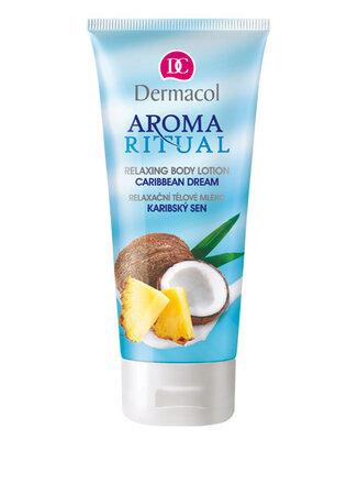 Tělové mléko Aroma Rituals, Dermacol, 99 Kč.