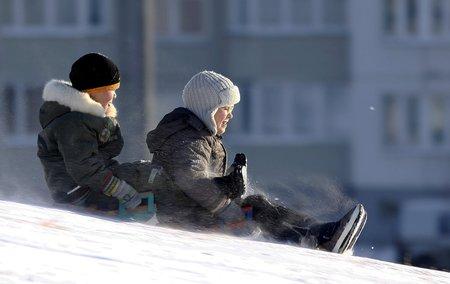 Mrznout bude hlavně na začátku týdne, po sedm dní by mělo i sněžit. (ilustrační foto)
