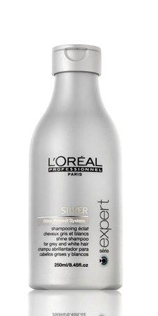 Loreal Professionnel Silver šampon, 149 Kč (250ml), koupíte v kadeřnických salonech
