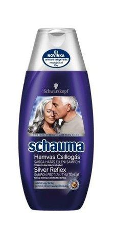 Schauma Silver Reflex šampon, 45 Kč (250ml), koupíte v síti drogerií