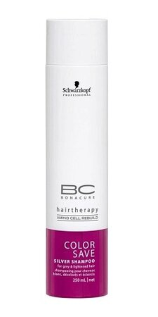 Schwarzkopf BC Cell Perfector Color Freeze Silver Shampoo, 132 Kč (250ml), koupíte na www.krasa.cz