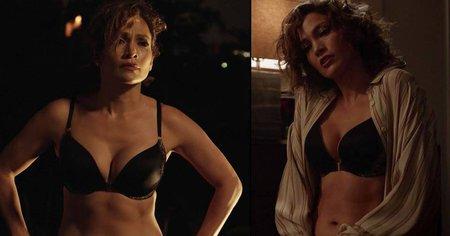 Jennifer se v novém seriálu svlékla do půlky těla a ukázala své vnady.