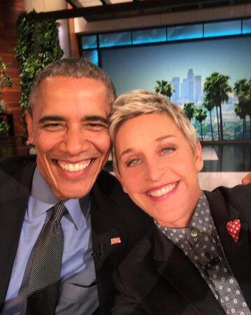 Barack Obama v The Ellen Show