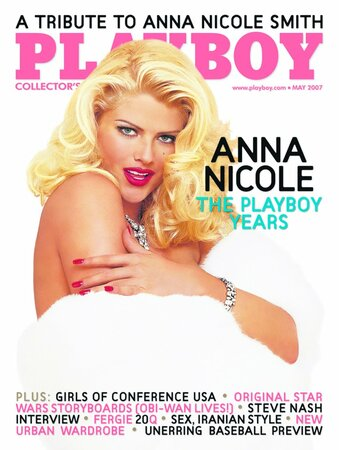 Anna Nicole Smith na obálce Playboye