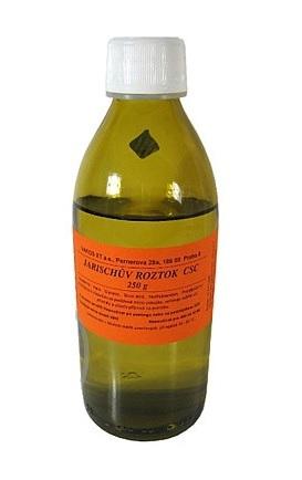 Jarischův roztok, 65 Kč (250 ml), koupíte v síti lékáren