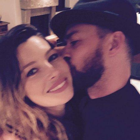 Justin Timberlake se svou manželkou Jessikou Biel