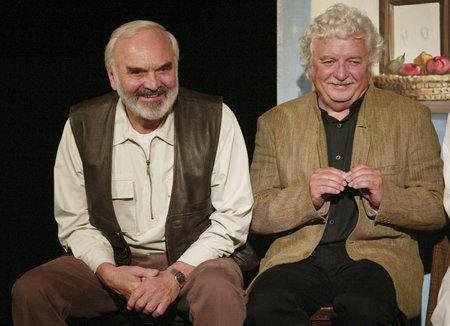 Zdeněk Svěrák, Ladislav Smoljak.
