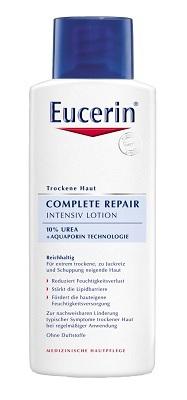 Eucerin Regenerační tělové mléko 10% UREA, 375 Kč (250 ml), koupíte v síti lékáren