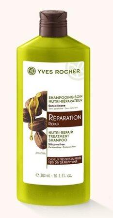 Yves Rocher regenerační šampon, 82 Kč (300 ml), koupíte na www.yves-rocher.cz nebo v prodejnách Yves Rocher