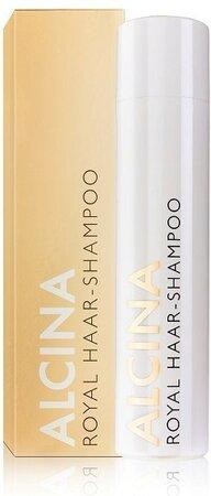 Alcina Royal Haar Shampoo, 510 Kč (250 ml), koupíte v kadeřnictvích